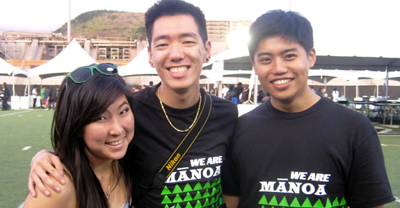 Welcome back to the UH Mānoa and the Fall 2015 semester! (Photo: Homecoming @ UH Mānoa)