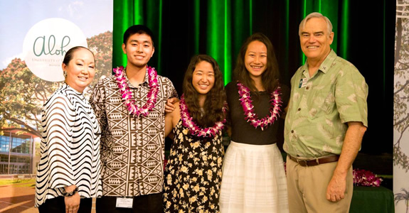 The Mānoa Scholars Awards Brunch was held on April 3, 2016, during the first annual Scholarship Awards Weekend. Click here to view the full caption >>