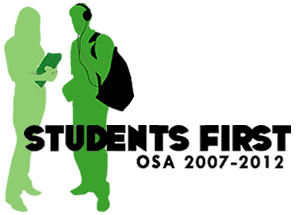 Students First: OSA Strategic Plan 2007-2012